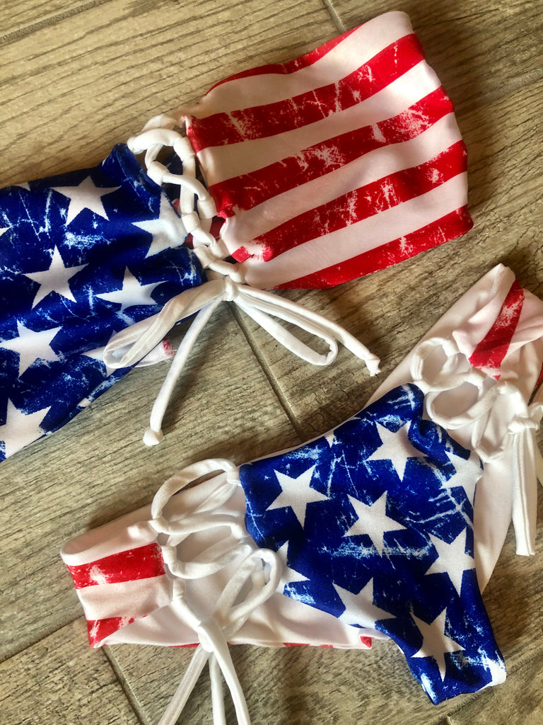 "Vintage Patriotic Bottom ""Emma"""