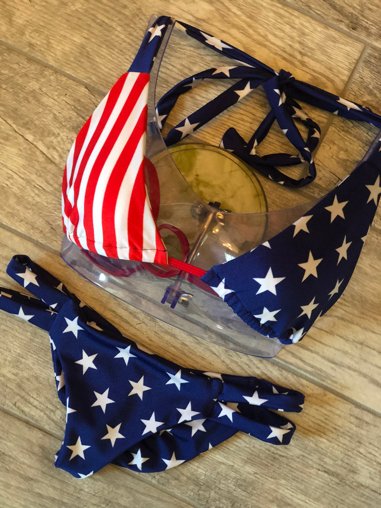 "Stars & Stripes ""Claire"" Top"