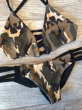 Camouflage Reversible Braid Bottom