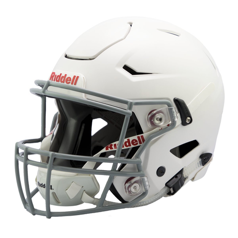 CASCO RIDDELL SPEED FLEX VARSITY BLANCO BARRA INCLUIDA