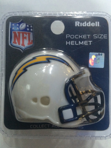 Pocket Size Helmet - San Diego Chargers