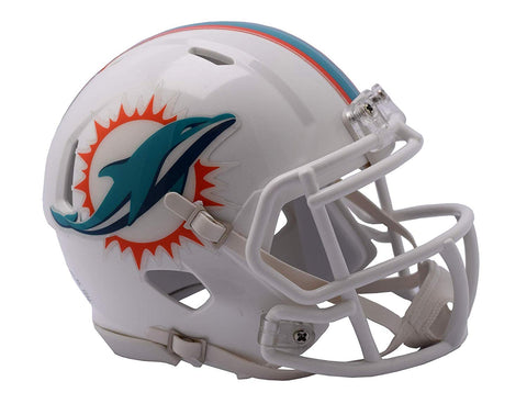MINI CASCO SPEED 2018 DOLPHINS RIDDELL