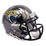 MINI CASCO SPEED CHROME JACKSONVILLE JAGUARS RIDDELL