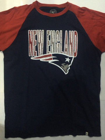 Playera New England Patriots Azul/Rojo
