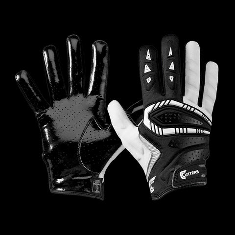 Guantes Cutters Adulto The Gamer All Purpose - Negro