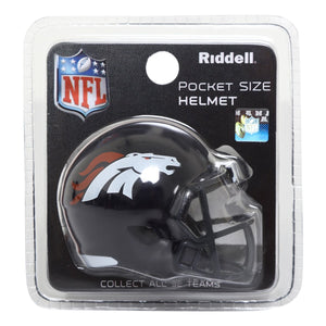 Pocket Helmet Broncos