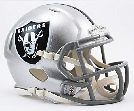 MINI CASCO RIDDELL SPEED RAIDERS LAS VEGAS