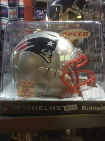 Mini Casco Riddell Speed - Patriots