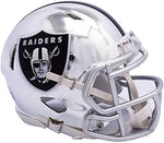 MINI CASCO SPEED CHROME RAIDERS OAKLAND