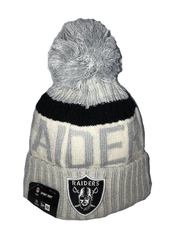 BEANIE NEW ERA SPORT KNIT OAKLAND RAIDERS