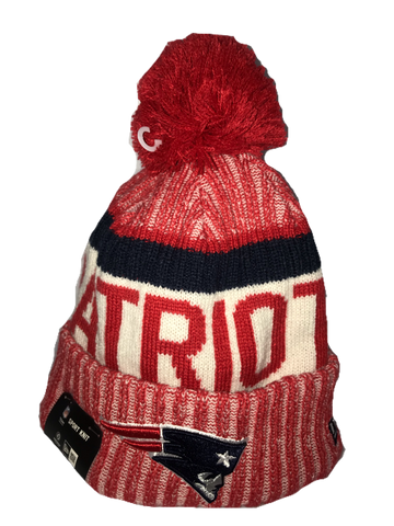 BEANIE NEW ERA SPORT KNIT NEW ENGLAND PATRIOTS