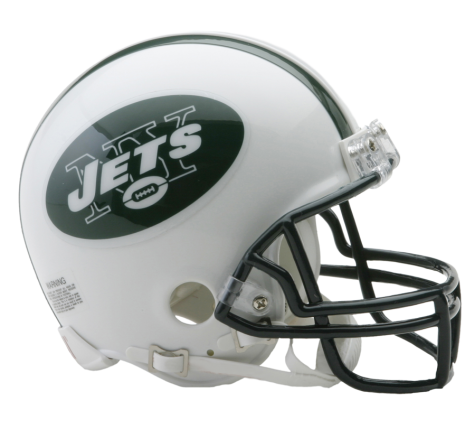 Mini Casco Riddell VSR4 - New York Jets