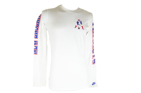 Playera Manga Larga New England Patriots