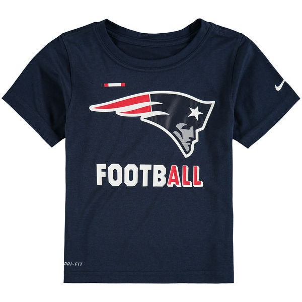 Playera Nike Sideline Legend Staff Hombre - New England Patriots