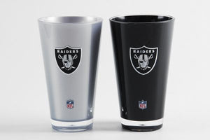 Set Vasos NFL - Las Vegas Raiders