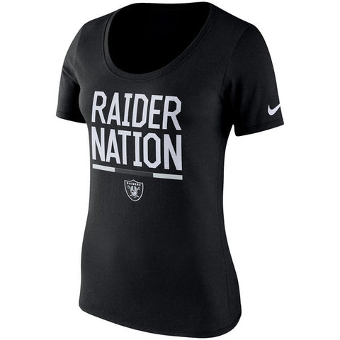 Playera Nike Mujer Local Spirit - Oakland Raiders