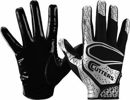 Guantes Cutters Youth Rev 2.0 - Negro/Plata ( NIÑO Y ADULTO)