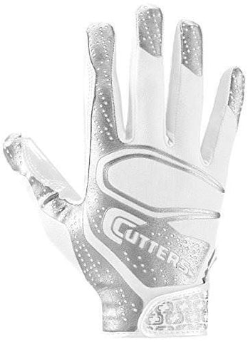 Guantes Cutters Youth Rev 2.0 - Blanco/Plata (NIÑO Y ADULTO)