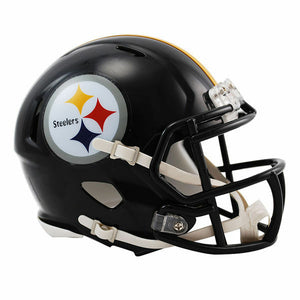 Mini Casco Riddell Speed  - Pittsburgh Steelers