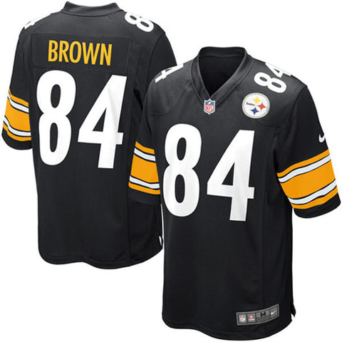 Jersey Nike Hombre - Pittsburgh Steelers Brown