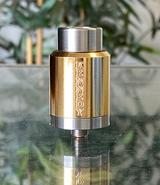 SPECIAL - 3 Post Kennedy 24 Brass w/ SS Deck, Specially Polished Cap