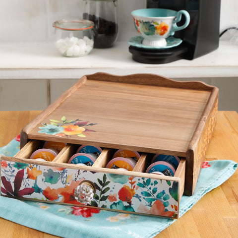 The Pioneer Woman Coffee Pod Organizer