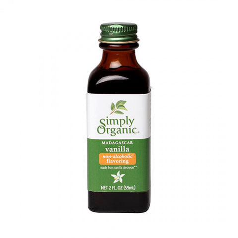 Simply Organic Vanilla 118ml