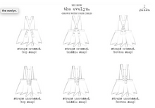 load image into gallery viewer, the evelyn mid-length pinafore.