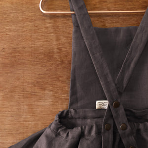 the alexandria calf-length pinafore.