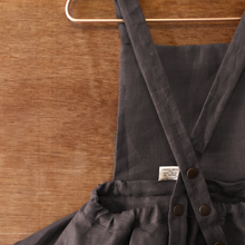 load image into gallery viewer, the sloan mini-length pinafore.