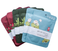 Illi 6 Sheet Mask Set - Camellia, Lotus & Mugwort
