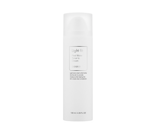 CosRX Light Fit Real Water Toner to Cream
