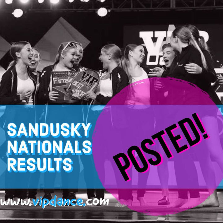 Sandusky Nationals Results