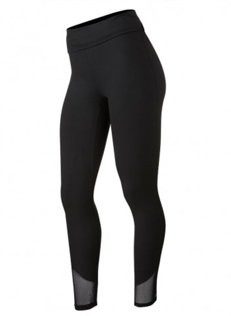 LEGGINGS | Lux Mesh Youth Legging | Black