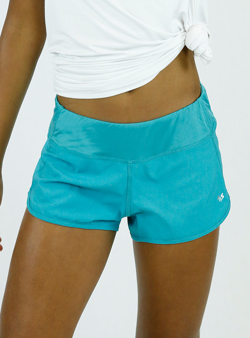 BOTTOMS | Propel Shorts | Teal