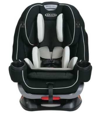 Graco® 4Ever™ Extend2Fit® 4-in-1 Car Seat - Clove \u2013 Cribs for Kids Store
