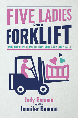 Five Ladies and a Forklift Book