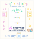 Cribs for Kids® ABC Photo Magnet