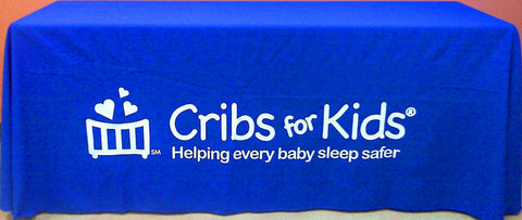 Cribs for Kids® 6' Table Cloth