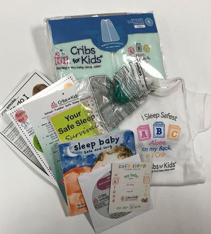 Onesie Safe Sleep Survival Kit - NO CRIB