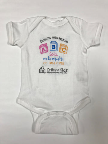 Spanish ABC Onesie