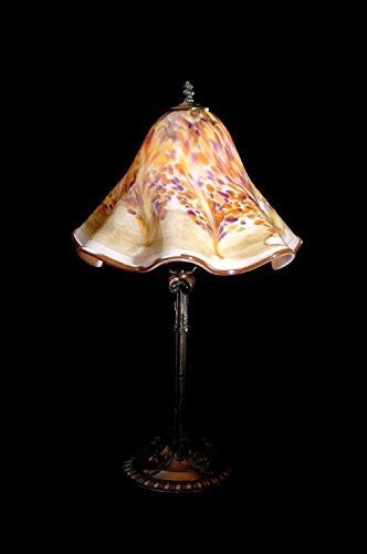 Lowery's Hand Blown Glass Table Lamp - Florence