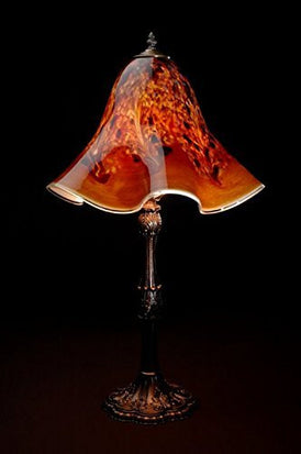 Lowery's Hand Blown Glass Table Lamp - Woodland