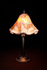 Lowerys hand blown glass table lamp florence lowerys hot glass lowerys hand blown glass table lamp florence mozeypictures Images