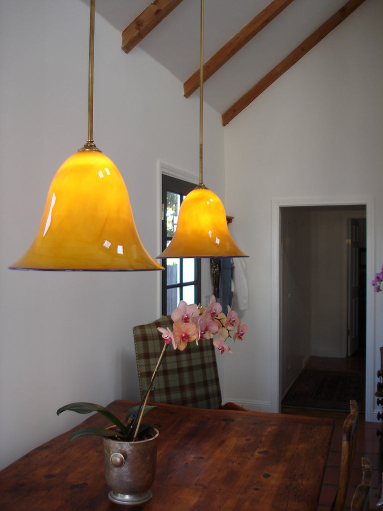 Pendant Lighting - Golden Bells