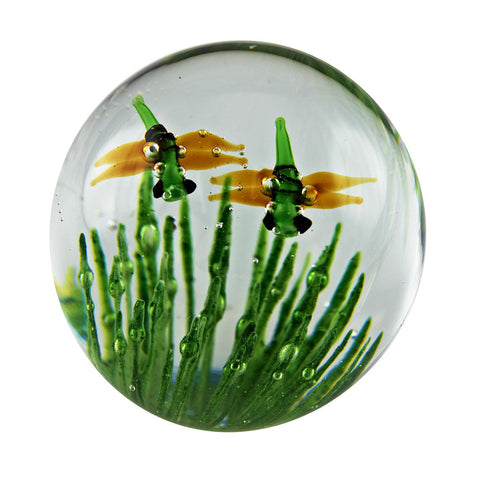 Dragonfly Glow Small Paperweight, FREE SHIPPING NATIONWIDE