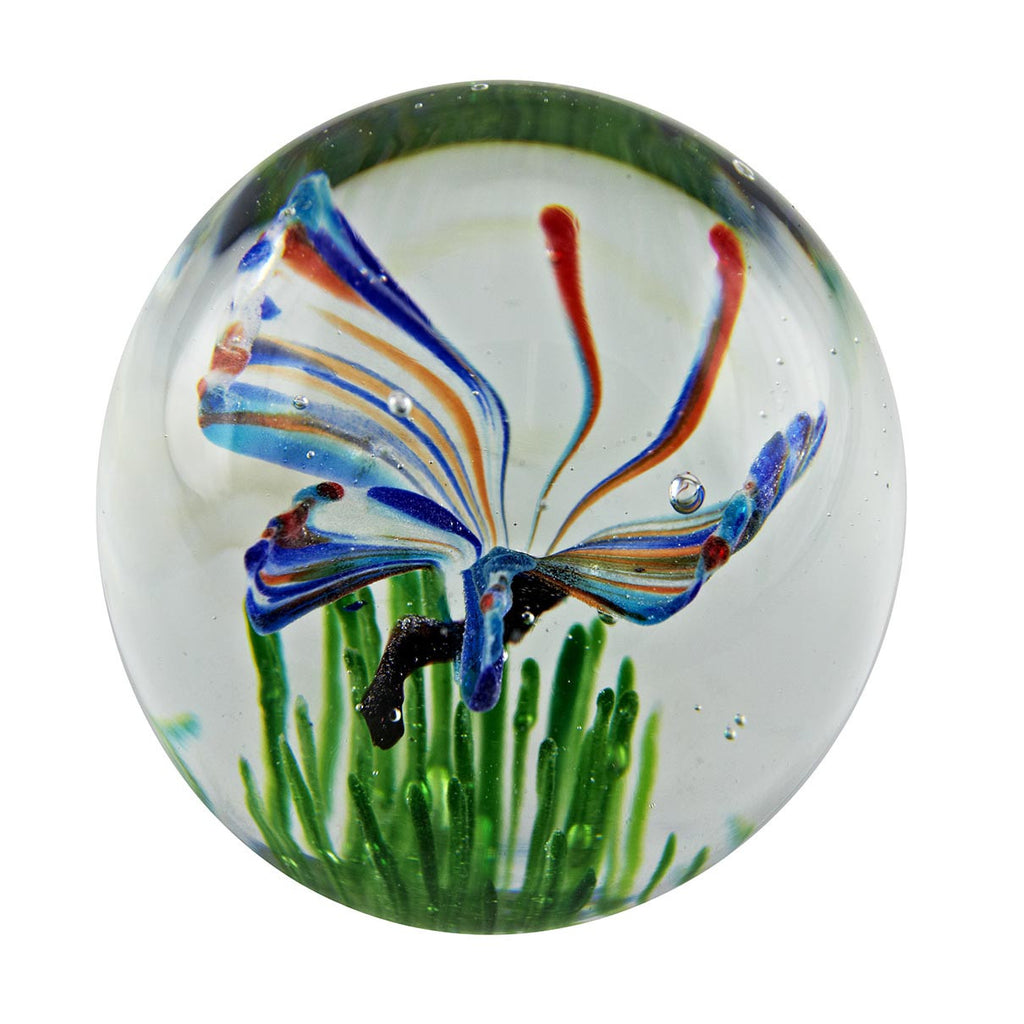 Rainbow Butterfly paperweight, FREE SHIPPING  to the lower 48 on purchases over $35.