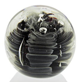 "Obsidian Glow Large 4"" Paperweight. FREE SHIPPING to the lower 48"