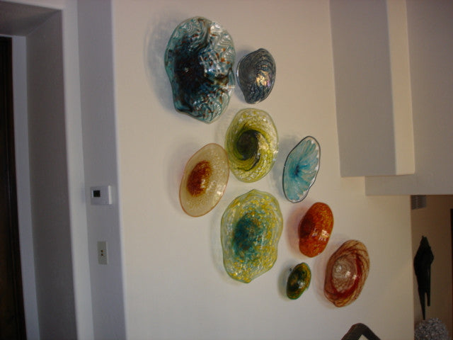 ... Blown Glass Wall Art Installations ...