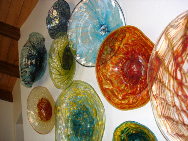Blown Glass Wall Art Installations